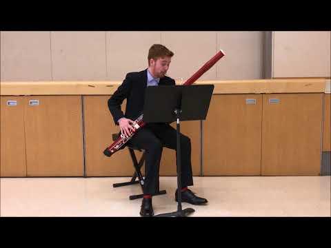 Justin Cummings - Bassoon - YOA Audition 2018
