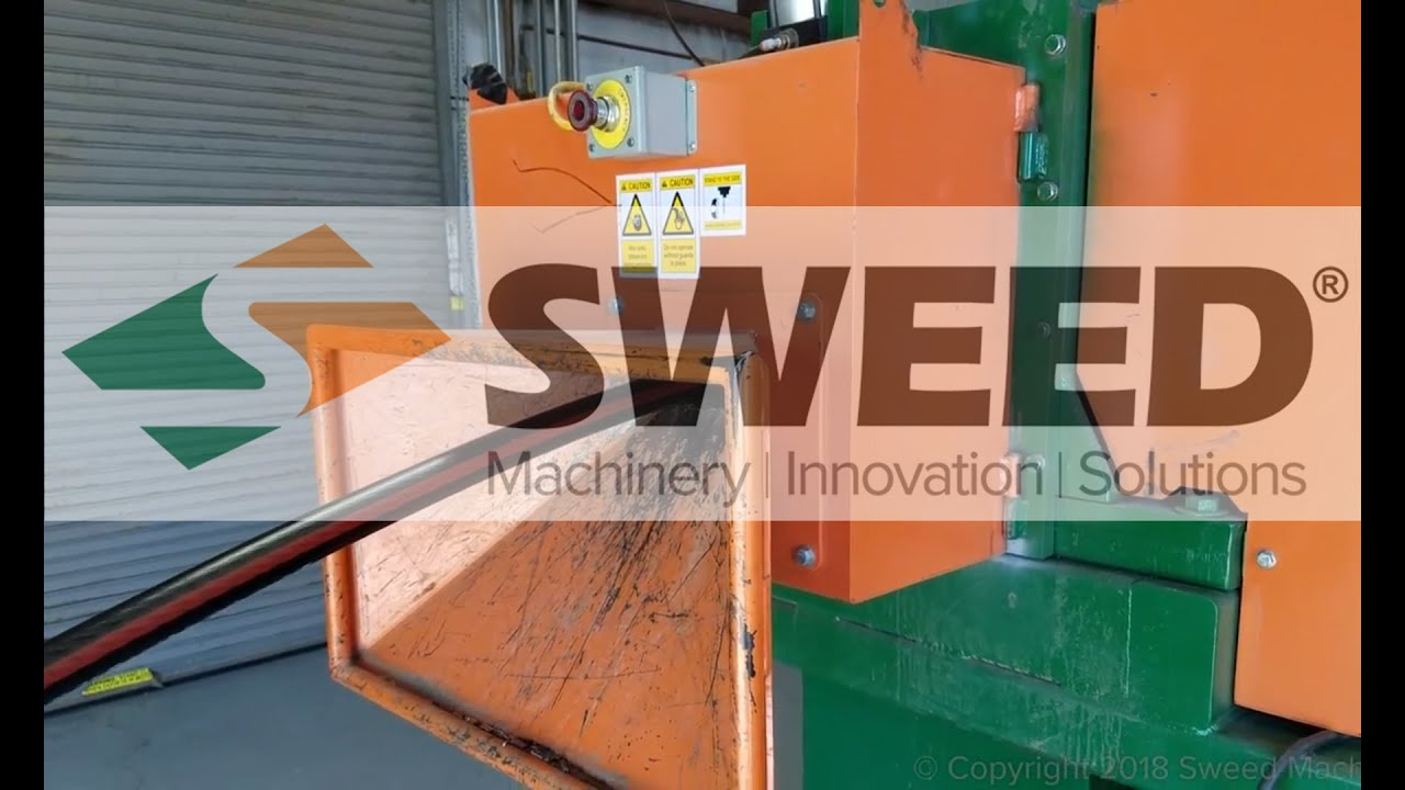 Sweed Wire & Cable Separation System Processing URD - YouTube