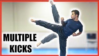 How to Do Multiple Kicks Standing On One Leg| Taekwondo/Martial Arts Tutorial