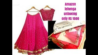 Best Lehenga from Amazon -only 1500 rs- is it good enough?