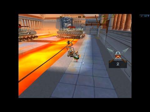 Asterix and the Great Rescue (Sega, 16 bit) Прохождение игры 1\2