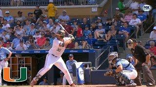 Miami's Alex Toral Hits A Long Home Run