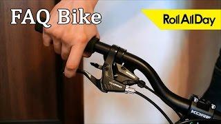 Как установить, настроить и притереть дисковый механический тормоз.  Roll All Day FAQ Bike(Максим Разгуляев, укажите пожалуйста в комментариях под этим видео ваш id в VK для того чтобы мы удостоверили..., 2015-11-01T18:00:27.000Z)