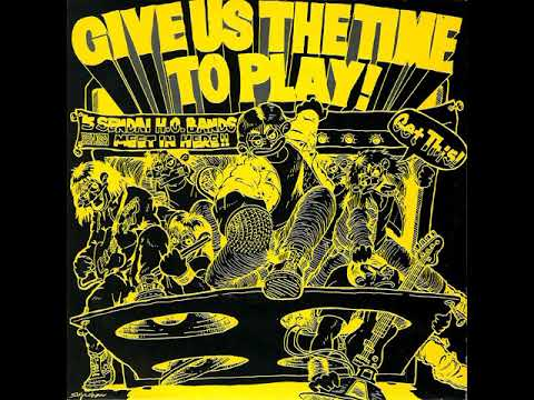 va - give us the time to play!  / 2x7''ep (1990) from Sendai City japan