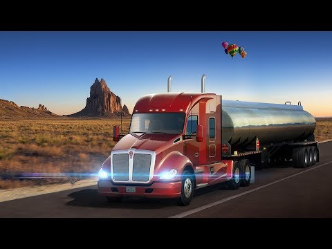 American Truck Simulator - New Mexico!