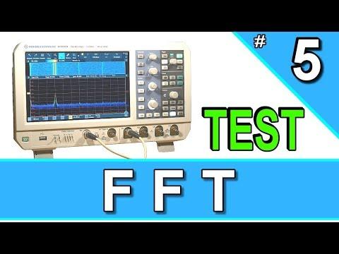 FFT Spectrum Analyzer | Bugs | Rohde & Schwarz RTM3004 | Oszilloskop RS RTM 3004 | Test Review #5из YouTube · Длительность: 5 мин23 с