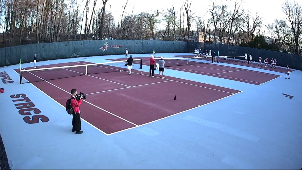 Fairfield Women's Tennis vs Monmouth (LIVE)