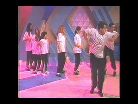 Programa Raul Gil 1994 Grupo Ritmo Quente - Botucatu