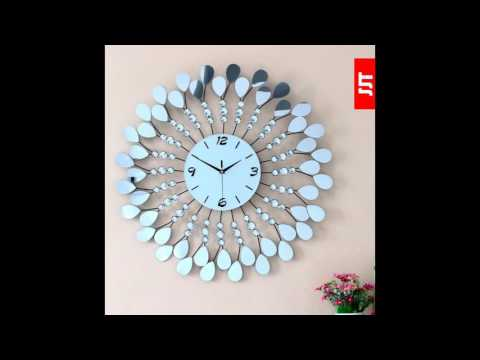 cad6dcfc6b17 Reloj de pared espectaculares - YouTube
