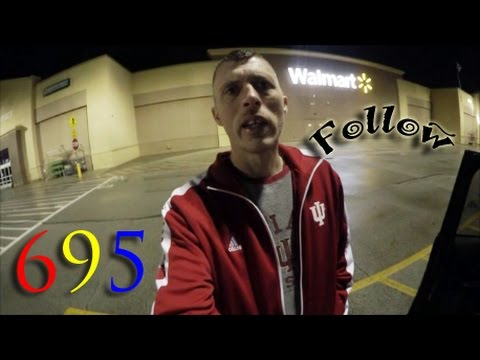 "IU & The WAL-MART ""Follow Me Mode""! (Day 695) 3-26-2017"