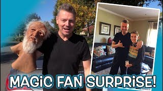 Fan SURPRISE! ** Magic Trick REVEALED! **