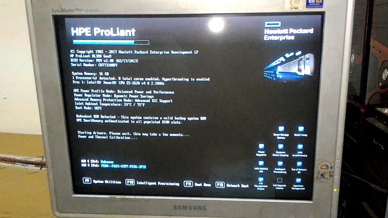 Install Windows Server 2012 R2 OEM on HPE ProLiant DL380 Gen9 Server