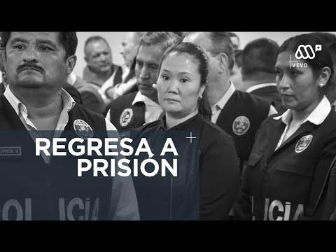 Keiko Fujimori Vuelve A La Prisión Por Casos De Corrupción