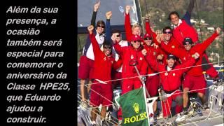 Baixar Eduardo Souza Ramos, maior vencedor da Ilhabela Sailing Week, retorna à raia