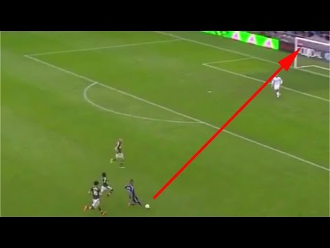 Quincy Amarikwa makes unbelievable long range chip