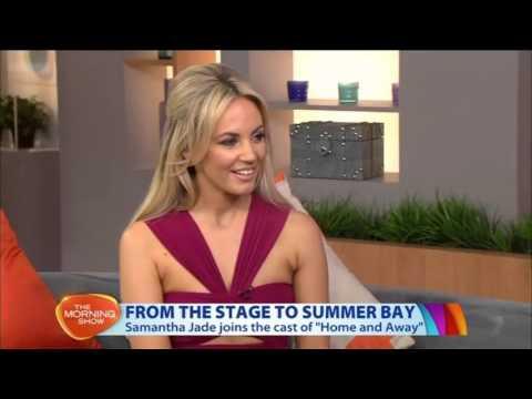 20/11/15 - Samantha Jade - Interview - The Morning Show - Sydney