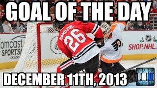 NHL GOAL OF THE DAY (December 11th, 2013)