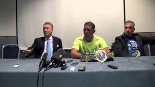 Full Billy Joe Saunders Post Chris Eubank Jr Fight Press Conference