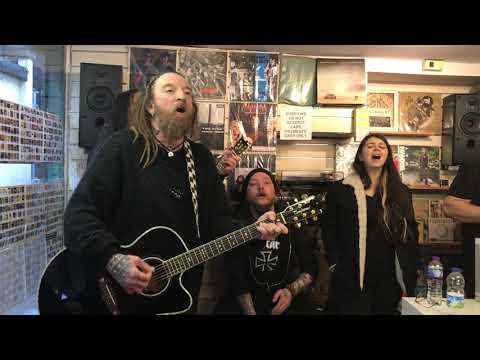 Ginger Wildheart  Paying It Forward Music One Vinyl, Abergavenny 5th March 2018