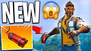 NEW Item In Fortnite - NEW TNT Item Coming To Fortnite Battle Royale! (New Item Coming To Fortnite)