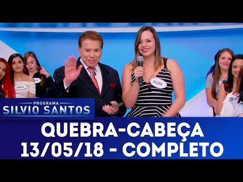 Quebra-cabeça - Completo | Programa Silvio Santos (13/05/18)
