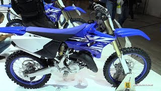 2018 Yamaha YZ125 - Walkaround - 2017 EICMA Milan Motorcycle Exhibition