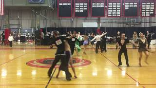 MIT Ballroom Competition 2017, Novice Latin Samba Quarterfinal