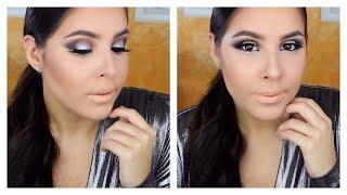 Metallic Silver Smokey Eye | Fall Inspired Makeup Tutorial
