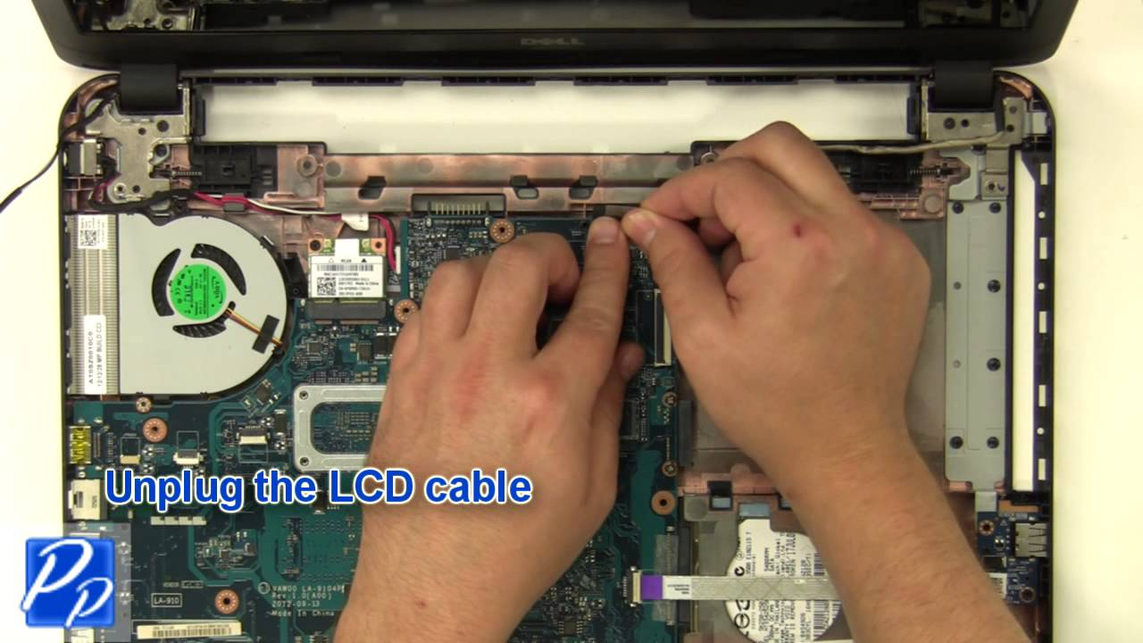 hight resolution of dell inspiron 15 3521 5521 lcd screen replacement video tutorial youtube