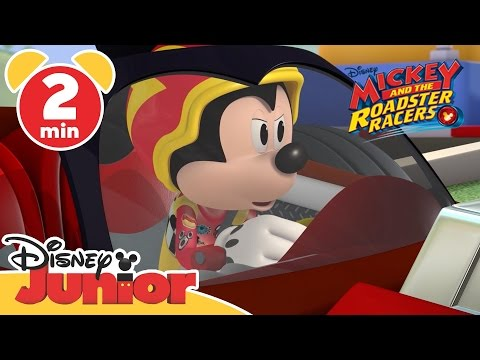 Mickey and the Roadster Racers | Tire Chase | Disney Junior UK