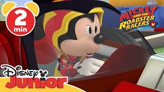 mickey and the roadster racers   tire chase   disney junior uk