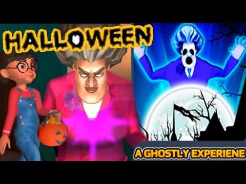SCARY TEACHER 3D -A Ghostly Experiene -Spooktacular Halloween - New Chapter[Android - ios]