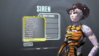 Borderlands: The Handsome Collection, All Maya Heads and Skins