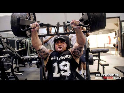 SUPER LEAGUE TRAINING | HEAVY HAMMERS AND FLOOR PRESSES | PITBULL AND BIG BOY