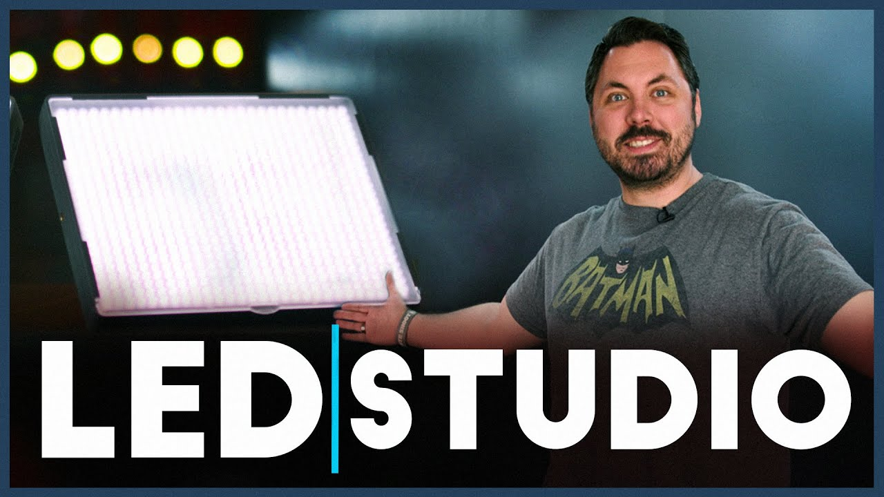 Studio Tour & Affordable LED Lights