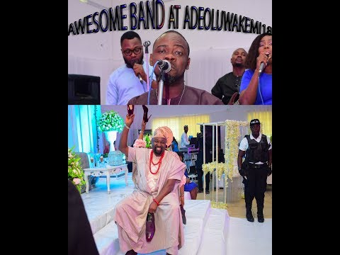 AWESOME BAND DOES  THE COVER OF 'ASSURANCE' BY  DAVIDO AT ADEOLUKEMI18'