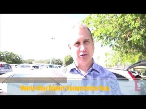 Congresista Mario Diaz Balart ve reñidas las elecciones
