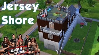 Jersey Shore Beach House (The Sims 4 Speed Build)
