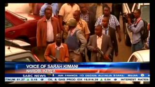 Sarah Kimani reports on blasts heard in Kenyan mall
