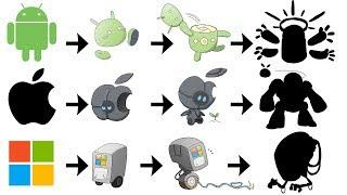 Gambar cover What If Apple, Google, Microsoft Logo Were Pokemon Evolutions ?