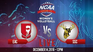 NCAA 94 Women's Volleyball: EAC vs. SSC-R | December 14, 2018