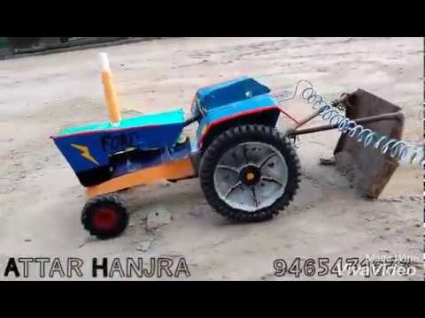 Home made toy tractor paper craft With new punjabi Song 20 6