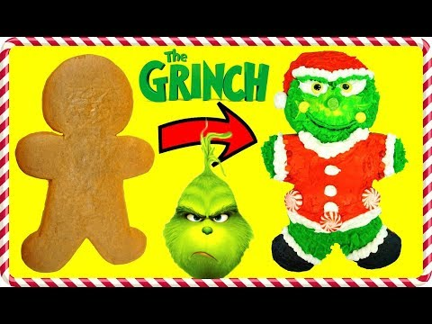The GRINCH MOVIE Inspired Gingerbread Man Cookie Decoration