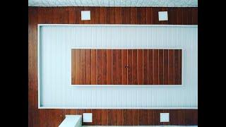 PVC Ceiling panels installation || India