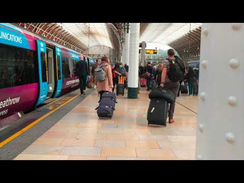 From Heathrow Airport To London Via Heathrow Express Train - How To