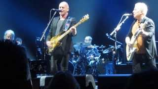 Every Breath You Take, Sting and Paul Simon, The Forum, Inglewood, CA, Feb. 15, 2014