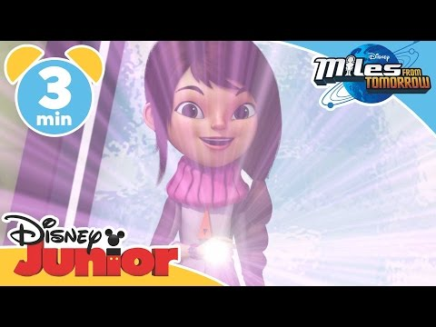 Miles From Tomorrow | An Admiral Rescue | Disney Junior UK