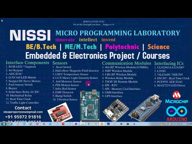Arduino with Ds18s20 by NISSI Embedded Laboratory - YouTube