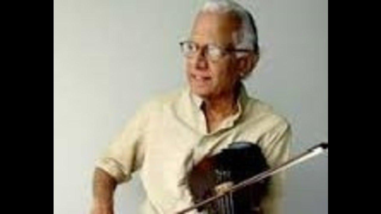 TN Krishnan- Violin-O_jagadamba_nanu_amba-Anandabhairavi