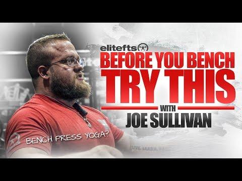 Bench Press Warm-Up with Joe Sullivan | elitefts.com